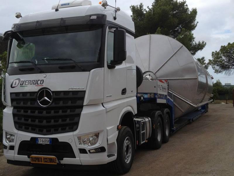 Trasporti eccezionali in tutta Italia con D'Errico Srl